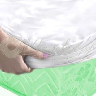 Непромокаемый наматрасник (60х120 см) с резинкой по всей длине детский фото