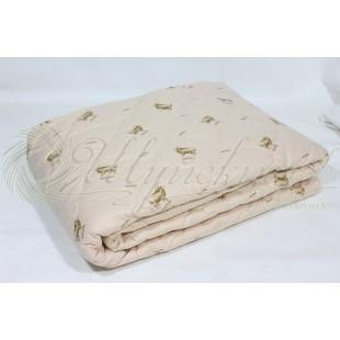 Одеяло Меринос Премиум всесезонное в тике фото