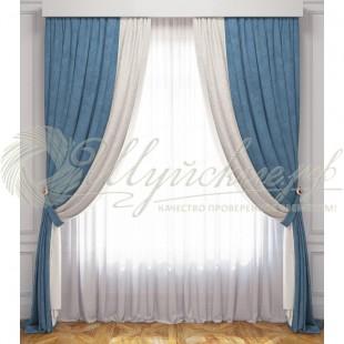 Комплект штор с вуалью ЛАТУР фото