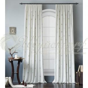Комплект штор с вышивкой ЛИЛАС фото