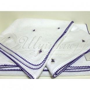 Полотенце махровое с вышивкой KELEBEK фото