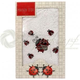Полотенце махровое с вышивкой LADYBUG  фото