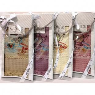 Полотенце вафельное в коробке ANATOLIA (1 шт) фото