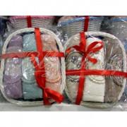 Набор махровый с вышивкой ELLA BASKET (3 шт)