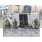 Набор махровая сетка COFFE DOR (4 шт)