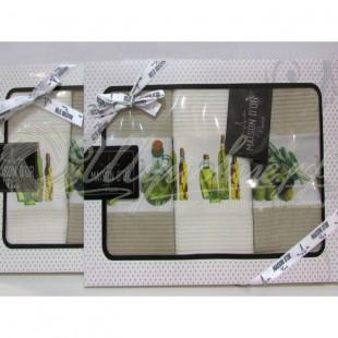Набор вафельный OLIVE (3 шт) фото