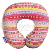 Подушка под шею «Бабушкино вязание»