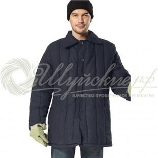 Ватная куртка 68-70(170-176) черная фото