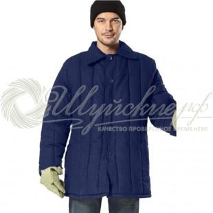 Ватная куртка 48-50(170-176) синяя фото
