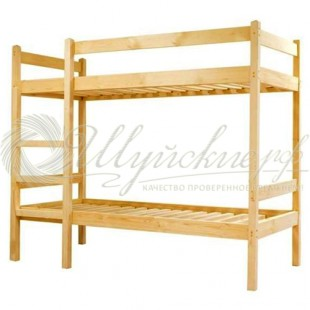 Кровать усиленная двухъярусная 90х200  фото