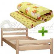 Кровать с матрасом 80х200 см