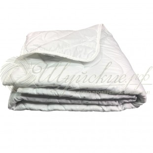 Одеяло Лебяжий пух лёгкое летнее фото