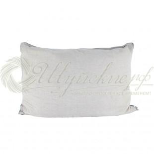 Подушка Кедровая скорлупа во льне фото