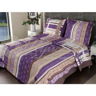 Постельное бельё Бязь Люкс Аккорд фиолетовый фото
