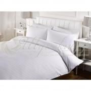 Белое постельное бельё Сатин