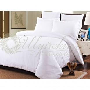 Белое постельное бельё Бязь фото