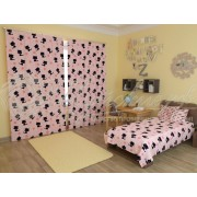 Фотошторы Котята на розовом