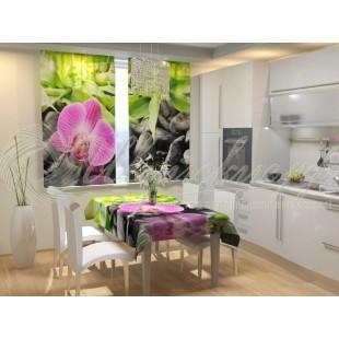 Фотошторы Несравненная орхидея фото