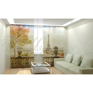 Фотошторы Парижский балкон фото