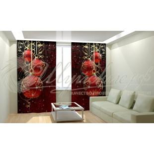 Фотошторы Новогодняя Коллекция Рим-Декор 73 фото