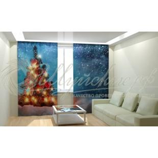 Фотошторы Новогодняя Коллекция Рим-Декор 74 фото