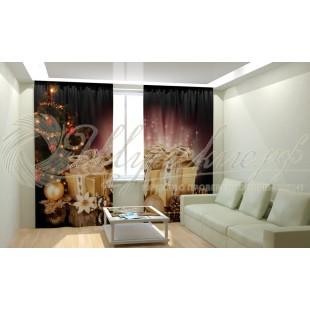 Фотошторы Новогодняя Коллекция Рим-Декор 76 фото
