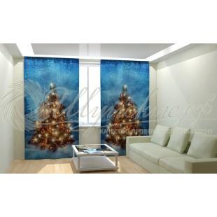 Фотошторы Новогодняя Коллекция Рим-Декор 77 фото