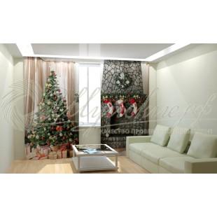 Фотошторы Новогодняя Коллекция Рим-Декор 85 фото