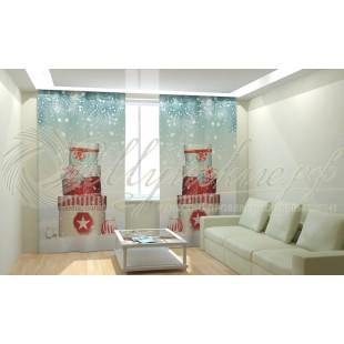 Фотошторы Новогодняя Коллекция Рим-Декор 90 фото