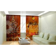 Фотошторы Новогодняя Коллекция Рим-Декор 44