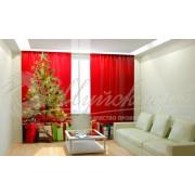 Фотошторы Новогодняя Коллекция Рим-Декор 45