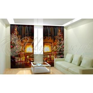 Фотошторы Новогодняя Коллекция Рим-Декор 52 фото
