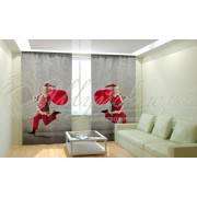 Фотошторы Новогодняя Коллекция Рим-Декор 56