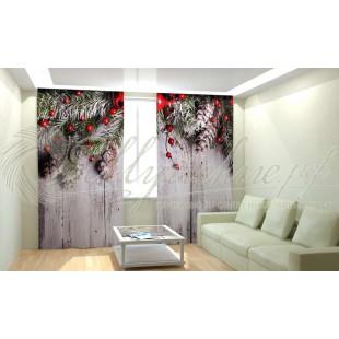 Фотошторы Новогодняя Коллекция Рим-Декор 9 фото