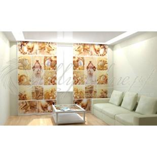 Фотошторы Новогодняя Коллекция Рим-Декор 34 фото