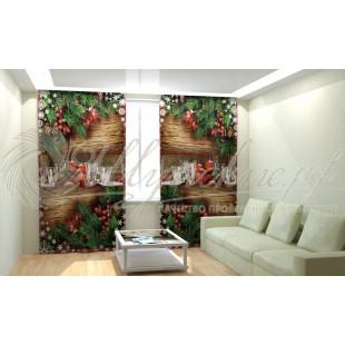 Фотошторы Новогодняя Коллекция Рим-Декор 41 фото