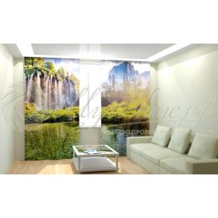 Фотошторы Сказочный водопад фото