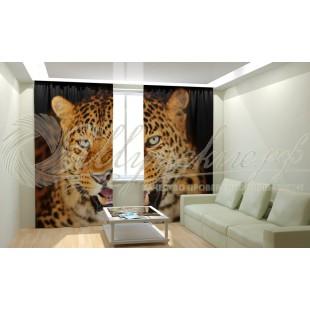 Фотошторы Леопард 2 фото
